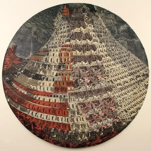 Anne Desmet, 'Babel Tower Revisited', 2018