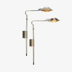 Cedric Hartman, 'Pair of adjustable sconces/wall lamps, Omaha, NE'