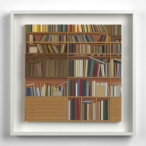 Lucy Williams, 'Library at Maison Louis Carré #4', 2017