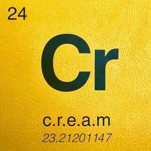 Cayla Birk., 'Periodic Table of Relevance Series: C.R.E.A.M.', 2018