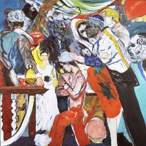 R. B. Kitaj, 'The Wedding', 1989-1993