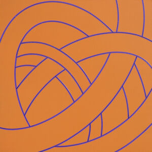 Corey Postiglione, 'Tango Suite #14 (orange)', 2017