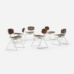 Michel Cadestin, 'Pompidou chairs, set of six', 1977