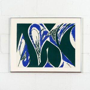 Lee Krasner, 'Free Space Blue', 1975