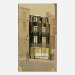 Miklos Suba, 'Architectural Rendering'
