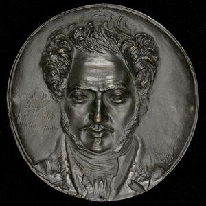 Pierre-Jean David d'Angers, 'Uriah P. Levy, 1792-1862, American Naval Officer', 1833