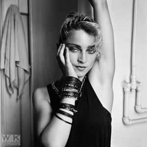 Richard Corman, 'Madonna Bathroom #1', 1983