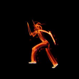 Patrick James Michel, 'Kinetic Colors - Orange', 2010