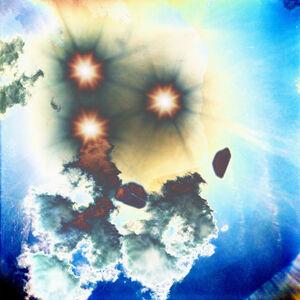 Jason Engelund, '3 Suns and Clouds ', 2020