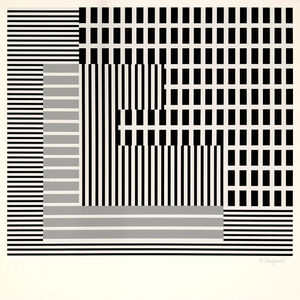 Henryk Stażewski, 'Lattice Composition ', 1931-1980