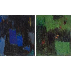 Albert Kotin, 'Untitled, Diptych', 1961