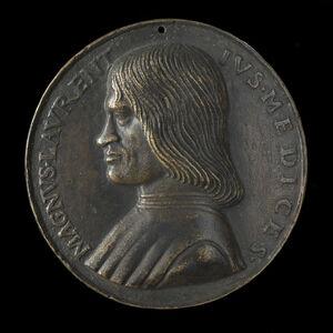 Niccolò Fiorentino, 'Lorenzo de' Medici, il Magnifico, 1449-1492'