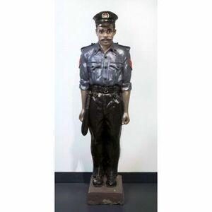 Sunday Jack Akpan, 'Untitled (Portait of a Nigerian Policeman)', 1991
