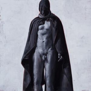 David Palumbo, 'Figure in Black Drapery #2', 2017