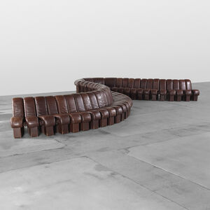 Ueli Berger, 'Monumental DS 600 Organic sofa', 1972