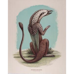 Beauvais Lyons, 'Ornithological Quadruped: Burmese Lion Hawk', 2013