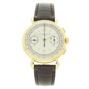 Vacheron & Constantin, '18ct yellow gold chronograph wristwatch Ref: 4178.', ca. 1950