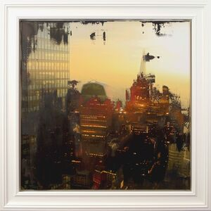 Keith Tyson, 'London (At the Horizon Between Day and Night)', 2019