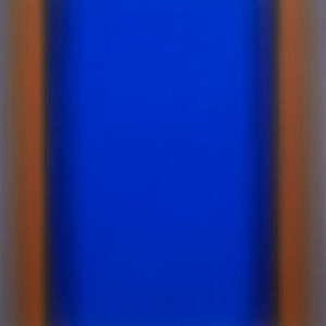 Ruth Pastine, 'Witness 1-S6060, (Blue Orange Deep), Witness Series', 2016
