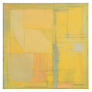 Ruth Philo, 'Waiting Rooms Yellow', ca. 2018