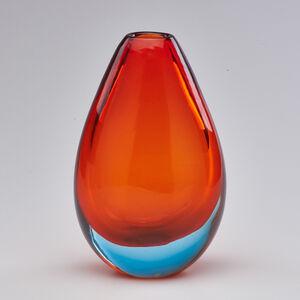 Flavio Poli, 'Sommerso glass vase', ca. 1960