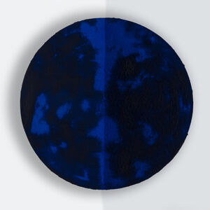Clemens Wolf, 'Expanded Metal Pigment Corner Painting', 2019