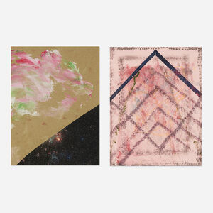 Sterling Ruby, 'Spatial Vaulting Diptych', 2008