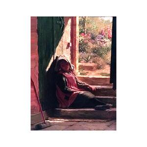 William V. Birney, 'Asleep with the sun', ca. 1890