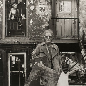 Rosalind Solomon, 'An East Village Painter, NYC', 1986