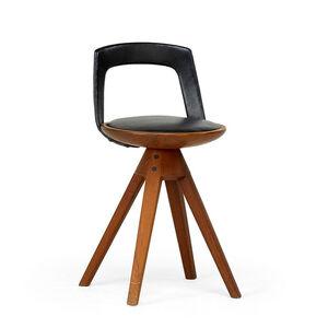 Edvard Kindt-Larsen, 'Swivel stool, Denmark', 1950s