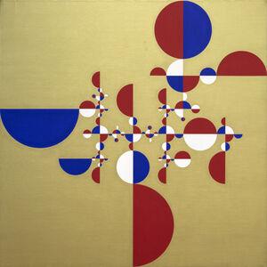 Gabriel Orozco, 'Samurai Tree - Invariant Gold 2', 2005