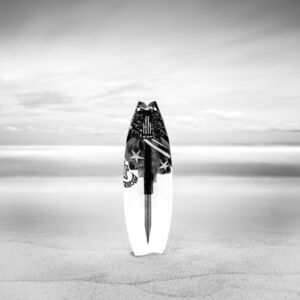 Keith Ramsdell, 'Surfboard at White Sands'