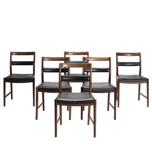 Helge Vestergaard Jensen, 'Set of 6 dining chairs', 1959