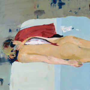 Alex Kanevsky, 'M.S.S. with Fish', 2017