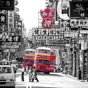 Keith Macgregor, 'Shanghai Street, Hong Kong (KMDUO-80)', 1984