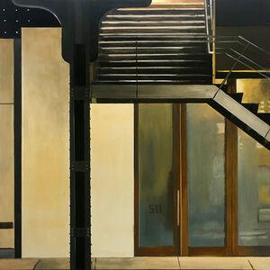 Allan Gorman, 'Highline Stairs at 23rd Street', 2020