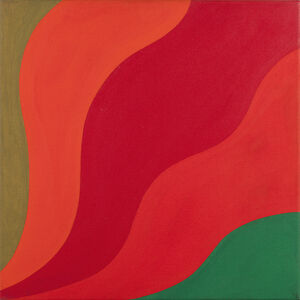 Michael Michaeledes, 'No. 2 Red Painting', 1966