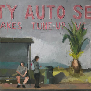 Wade Schuster, 'Waiting for the Bus', 2018