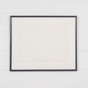 Yves Gaucher, 'Phantom Structure IV', 1967