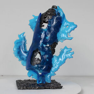 Philippe Buil, 'Can spray blue sea', 2019