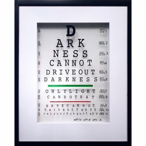 Michael Suchta, 'Martin Luther King Jr. Eye Quote', 2017