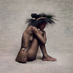 Fred Stichnoth, 'Young Woman with Paradise Bird Headpiece, New Guinea', 2015