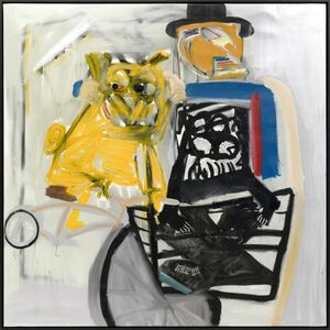 Danny Minnick, 'Louie and Flip taking you on a New York basket ride', 2018