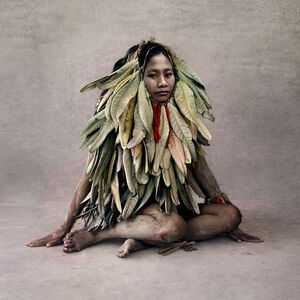 Fred Stichnoth, 'Young Woman in Leaf Costume, New Guinea', 2013