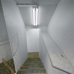 Daniel Mirer, 'Fluorescent Staircase, Tokyo, Japan', ca. 2005