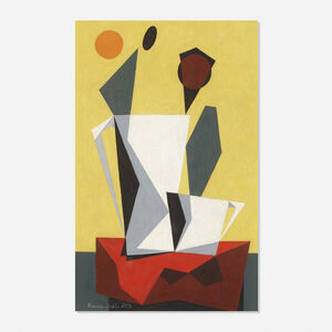 Kenneth Stubbs, 'Geometric Composition', 1953