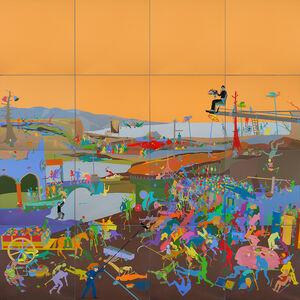 Miao Xiaochun 缪晓春, 'Triumph of Death', 2015