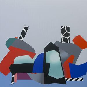 Ana Elena Garuz, 'Bodegón con pared gris', 2020