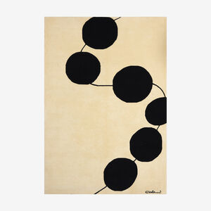 Luigi Colani, 'low pile carpet', c. 1985