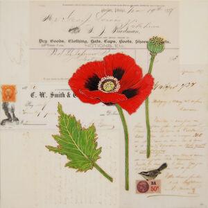 Kenna Moser, 'Red Poppy #4'